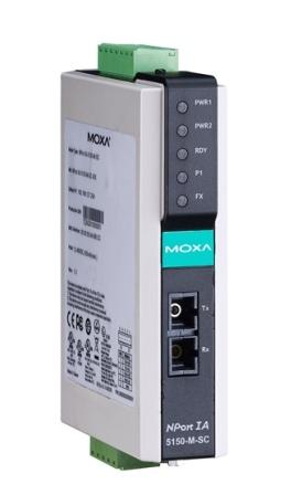 MOXA NPort IA 5150I-S-SC-T