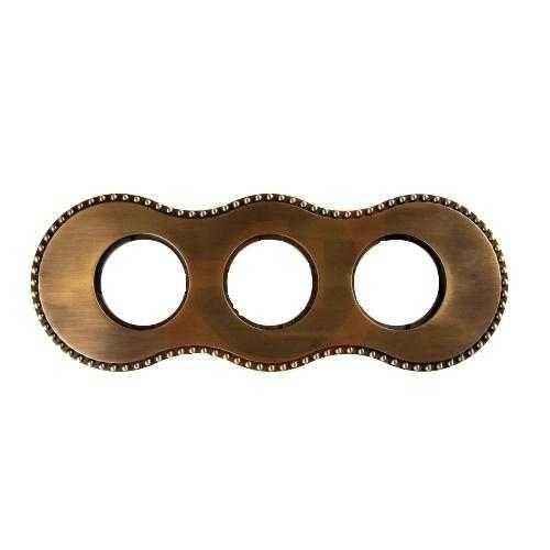 Рамка Bironi BF8-630-32 бронза, 3-я рамка bironi bf2 630 02 коричневый фарфор 3 я