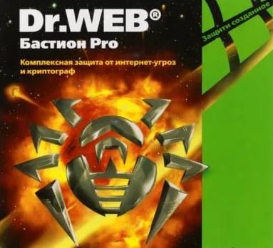 Dr.Web Бастион Pro. Продление 1 ПК/1 год, скрэтч-карта