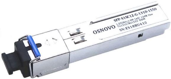 OSNOVO SFP-S1SC12-G-1310-1550