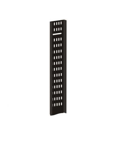 Лоток TWT TWT-CB-CTR-31U-1 вертикальный,кабельный для шкафов 31U,шириной 100 мм,черный