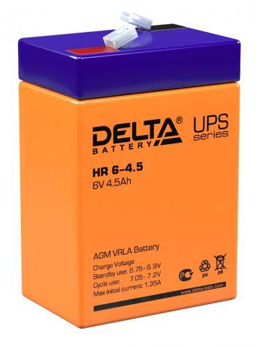 Батарея Delta HR 6-4.5 6В, 4.5Ач, 70мм/47мм/107мм