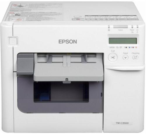 Фото - Принтер Epson TM-C3500-012CD C31CD54012CD принтер epson c6500ae c31ch77102 colorworks