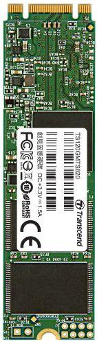Фото - Накопитель SSD M.2 Transcend TS120GMTS820S MTS820 120GB SATA 6Gb/s 550/500 IOPS 70/75K MTBF 1M 3D NAND TLC Retail ssd накопитель transcend ts120gmts820s 120gb m 2 2280 sata iii ssd ts120gmts820s