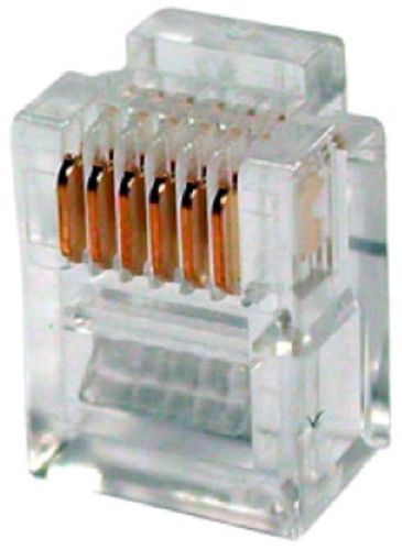 Коннектор 5bites US030A RJ12, 6P6C, 100шт