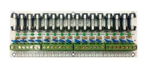 Модуль расширения Smartec ST-PS116FB для блока питания на 16 выходов с индивидуальными предохранителями