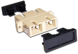 Адаптер Lanmaster LAN-2SC-AM-OM4 оптический SC, OM4, дуплексный