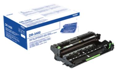 Фотобарабан Brother DR3400 для HL-L5000D, HL-L5100DN, HL-L5100DNT, HL-L5200DW, HL-L5200DWT, HL-L6250DN, HL-L6300DW, HL-L6300DWT, HL-L6400DW, HL-L6400