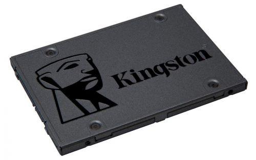 Накопитель SSD 2.5'' Kingston SA400S37/960G A400 960GB SATA III (6Gb/s) TLC 500/450MB/s MTBF 1M ssd накопитель kingston a400 sata iii 240gb 2 5 sa400s37 240g