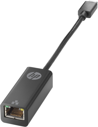 Адаптер HP V7W66AA USB-C to RJ45 (EliteBook 1030 G1/EliteBook Folio G1/Elite Tablet x2 1012 G1/Pro Tablet 608 G1)
