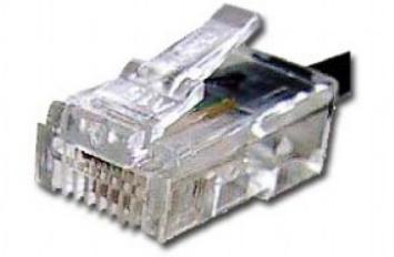 Коннектор Cablexpert MP-6p4c/5 телефонный 6p4c, 3m (100 шт.) RJ-11 коннектор rj 12 6p4c 100шт proconnect 05 1012 3