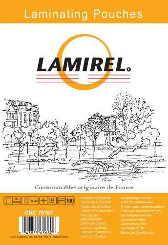 Фото - Пленка Fellowes LA-78767 для ламинирования Lamirel 85x120мм, 125мкм, 100шт чистящие салфетки fellowes lamirel la 5144001 100 шт
