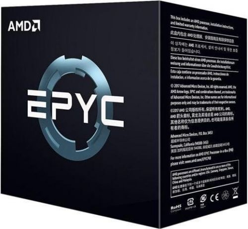 EPYC 7251 Процессор AMD EPYC 7251 8C/16T 2.0/2.9GHz (Socket-SP3, L3 32MB, TDP 120W) BOX PS7251BFAFWOF