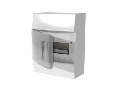Бокс ABB 1SPE007717F9991 Mistral41 настенный 8М прозрачная дверь (с клемм)