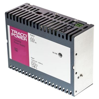 Преобразователь AC-DC сетевой TRACO POWER TIS 150-124 144Watt;24 VDC / 6 A;DIN-Rail mount power supply;Switch mode supplies for DIN-rail mount.
