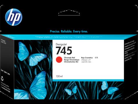 Картридж HP 745 F9K00A для HP DesignJet, 130ml, хроматический красный