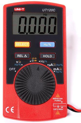 Мультиметр Unit 13-0019 Портативный UT120C