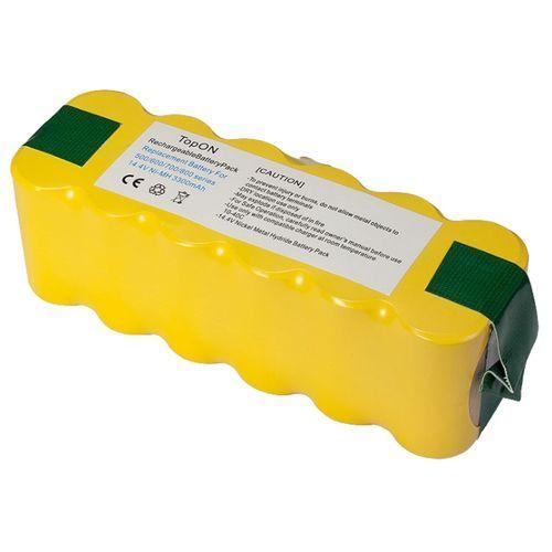 4500mah xlife extended life replacement battery for irobot roomba r3 500 600 700 800 900 series 530 531 532 Аккумулятор TopOn TOP-IRBT500-30 для робота-пылесоса iRobot Roomba 500, 600, 700, 800, 900 Series. 14.4V 3000mAh Ni-MH. PN: GD-ROOMBA-500.