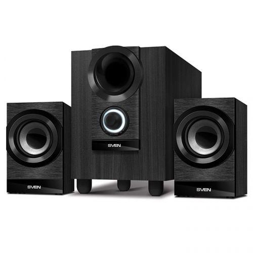 Компьютерная акустика 2.1 Sven MS-150 SV-014803 черные, 15Вт