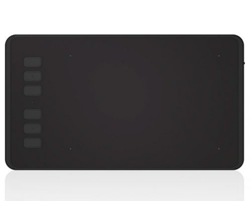Графический планшет Huion INSPIROY H640P 5080 lpi, 160*100 мм, USB 2.0, черный графический планшет huion inspiroy hs610 черный