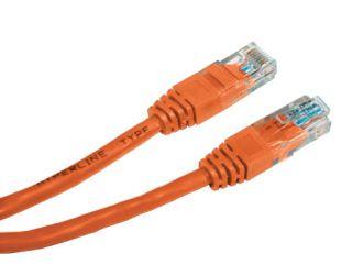 Фото - Кабель патч-корд U/UTP 5e кат. 10м. Lanmaster LAN-45-45-10-LSZH оранжевый, LSZH кабель витая пара u utp 5e кат 4 пары lanmaster lan 5eutp pt lszh lszh оранжевый 305м в кат