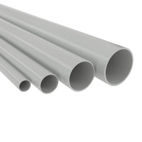 Труба жёсткая DKC 63950 ПВХ гладкая д.50мм, лёгкая, 3м, цвет серый,