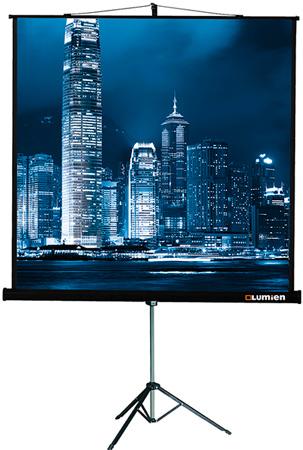 Экран Lumien LMV-100109 MasterView 203*203 MW 1:1 на штативе