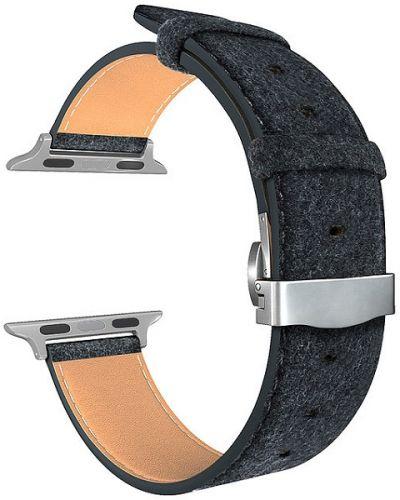 Ремешок на руку Lyambda MINKAR DSP-10-40 кожаный для Apple Watch 38/40 mm alcantara ремешок lyambda pollux для apple watch 38 40 mm dsp 24 40 bk черный