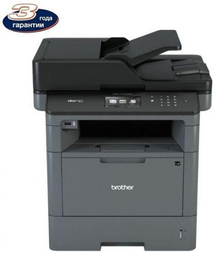 МФУ Brother MFC-L5700DN A4, 40 стр/мин, печать 1200x1200, скан, лоток 250+50 л, USB, факс, авт двуст печать, черный