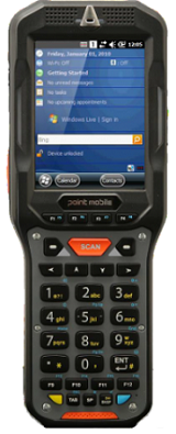 Фото - Терминал сбора данных PointMobile P450GPL2457E0T Point Mobile PM450 BT 2D EXT/802.11 abgn/512MB-1Gb/VGA/Android/numeric/EXT battery терминал сбора данных pointmobile p260ep12134e0t 2d 2200 ма·ч li ion point mobile pm260 2d bt 802 11 bg 256 256 wce6