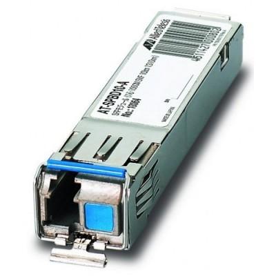 Модуль Allied Telesis AT-SPBD10-14 1000BX, 10km, Single mode, Single fiber [Tx=1490,Rx=1310], LC модуль allied telesis at spfx 15 100basefx 15km 1310nm single mode fibre