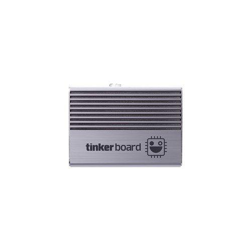 Корпус ASUS TINKER FANLESS CASE для одноплатного компьютера Tinker Board, безвентиляторная конструкция, алюминий