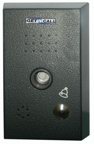 Селектор GETCALL GC-3001M1 (1 аб.) на 1 абонента для машинного отделения, с транзитным переключением лифтовой кабины, металлический корпус, врезное/на