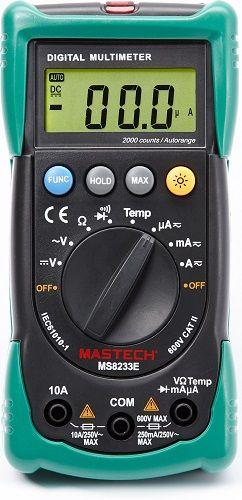 Мультиметр Mastech 13-2013 Универсальный MS8233E