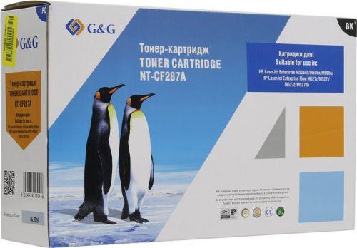 Картридж G&G NT-CF287A для HP LaserJet Enrterprise M506 x/n/dn MFP M527 z/f/dn (9000стр)
