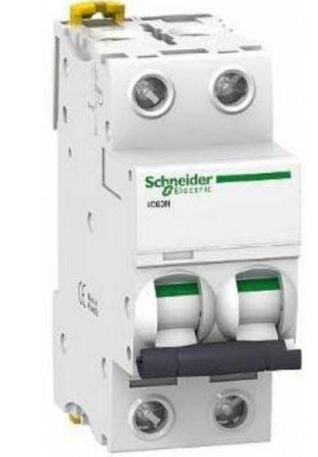 Автоматический выключатель Schneider Electric A9F79216 2P 16A (C)(серия Acti 9 iC60N) автоматический выключатель schneider electric ez9f34210 2p 10a c серия easy 9