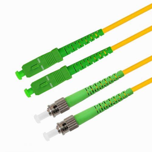 Кабель патч-корд волоконно-оптический TELCORD ШОС-2x3.0-DSC/A-DST/A-SM-5.0м-LSZH-YL  - купить со скидкой