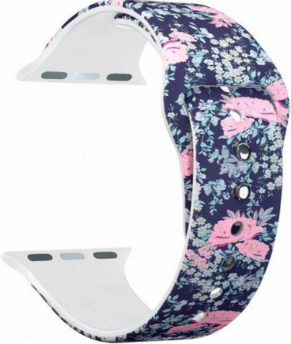 Ремешок на руку Lyambda ALYA DS-APF06-40-19 силиконовый для Apple Watch 38/40 mm flower ball аксессуар ремешок gurdini milanese loop для apple watch 42mm rose gold 904820