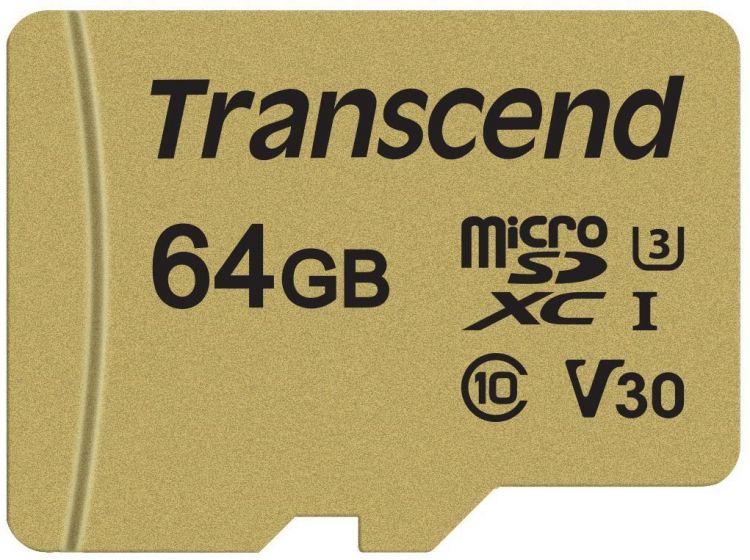 Transcend TS64GUSD500S