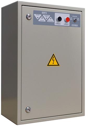 Шкаф Болид ШУЗ управления задвижкой, автоматическое и ручное управление трехфазным двигателем мощностью до 4 кВт, RS-485, IP54