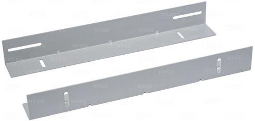Направляющая NTSS NTSS-YP-H-800-BL для поддержки оборудования в шкафы глубиной 800мм, усиленные до 100кг (пара) RAL9005 шкафы в лобне