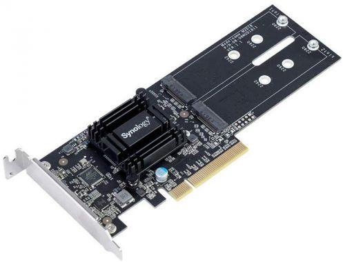 Плата Synology M2D18 с двумя слотами SSD M.2 для улучшенного кэширования SSD