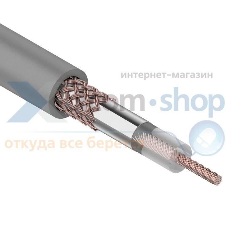 Rexant RG-58 A/U, (64%), 50 Ом, 100м., серый