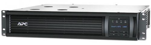 Источник бесперебойного питания APC SMT1000RMI2U 1000VA/700W, RM 2U, Line-Interactive, LCD, Out: 220-240V 4xC13 (2-Switched), SmartSlot, USB, COM, HS