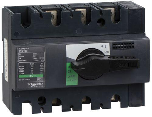 Выключатель Schneider Electric 28912 разъединитель 3P 160А рукоятка спереди