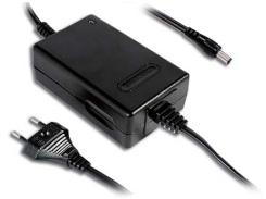 Зарядное устройство Mean Well GC30E-1P1J 22Вт, вход 90...264В АС 47...63Гц/127...370В DC, выход 5,6В/4А, изоляция 3000В АС, 108х67х36мм, 0...50°С, евр