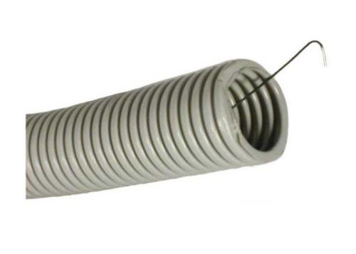 Труба гофрированная IEK CTG20-32-K41-025I ПВХ 32мм легкого типа с протяжкой (цена за бухту 25м)