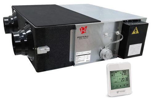 Приточно-вытяжная установка Royal Clima RCS-250-P SOFFIO Primo с рекуператором
