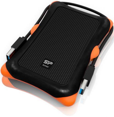 Внешний жесткий диск 2.5'' Silicon Power SP020TBPHDA30S3K 2TB Armor A30 USB 3.0 черный внешний жесткий диск 2 5 silicon power sp020tbphds03s3k 2tb stream s03 usb 3 0 черный