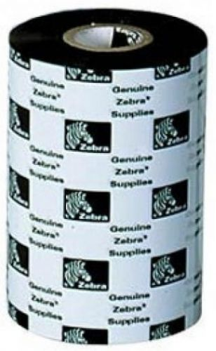 Лента красящая Zebra 0210 02100BK10645 Воск 2100 High Performance Wax Black 106 мм/450 м недорого